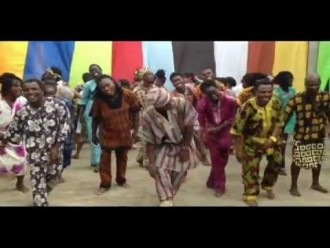 From Cote d'Ivoire, a Happy New Year dance
